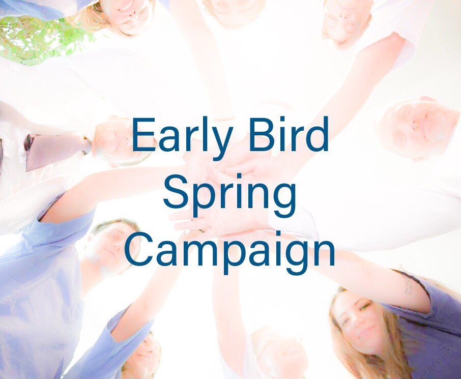 Sergio Noviello Academy, Early Bird Spring Campaign
